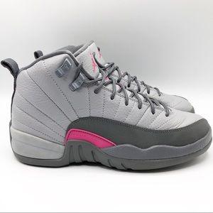 Nike Jordan Retro 12 GG wolf grey & vivid pink